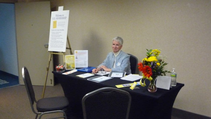 There's always someone to talk to about Eckankar membership at any New Jersey ECK event.