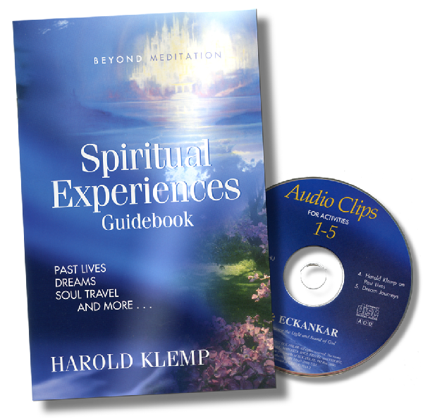 Spiritual Experiences Guidebook cover and CD